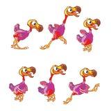 Springender Dodo Sprite Lizenzfreies Stockfoto