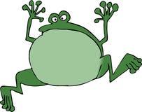 Springender Frosch Lizenzfreie Stockbilder