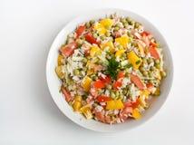 Springender Joe Salad des neuen Jahres Lizenzfreie Stockbilder