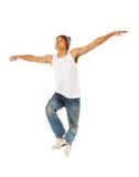 Springender Tänzer Stockbilder
