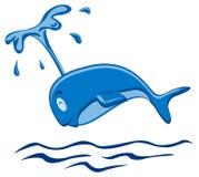 Springender Wal lizenzfreie abbildung