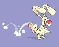 Springendes Kaninchen Stockfotografie