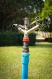 Springer water. In the garden outdoor Stock Photo