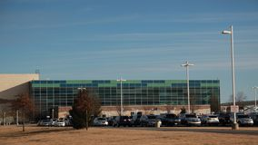 Springfield-Branson nationell flygplats Arkivfoto