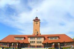 Springfield facklig station arkivbilder