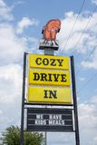 SPRINGFIELD, IL - JULY 14, 2014: Cozy Dog Drive In. royalty free stock images
