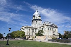 Springfield, Illinois Royalty Free Stock Image