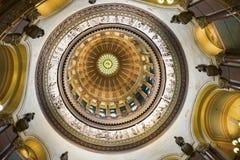 Springfield, Illinois - binnen van het Capitool van de Staat Stock Foto's