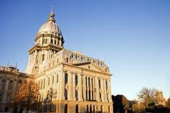 Springfield, Illinois - condizione Campidoglio Immagini Stock Libere da Diritti