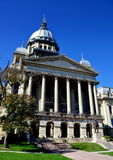 Springfield, Illinois:  De het Capitoolbouw van de staat Royalty-vrije Stock Afbeeldingen