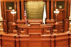 Springfield, Illinois - State Capitol stock photo