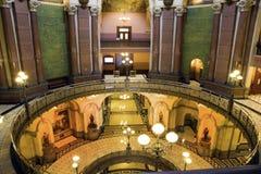 Springfield, Illinois - State Capitol. Springfield, Illinois - fall by State Capitol Royalty Free Stock Image