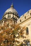 Springfield, Illinois - State Capitol. Springfield, Illinois - fall by State Capitol Stock Photos