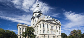 Springfield, Illinois - State Capitol. State Capitol of Illinois in Missouri Stock Photo