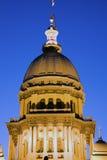 Springfield, Illinois - Zustand-Kapitol Stockbild