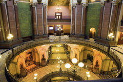 Springfield, Illinois - Zustand-Kapitol Lizenzfreies Stockbild