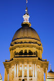 Springfield, l'Illinois - capitol d'état image stock