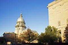 Springfield, l'Illinois - capitol d'état Images libres de droits