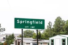 Springfield  limity Stock Photography