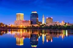 Springfield, Massachusetts Skyline Royalty Free Stock Photography