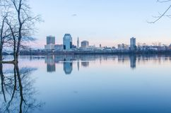Springfield massachusetts stad arkivbild