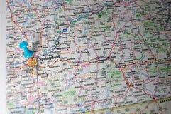 Springfield Missouri fotografering för bildbyråer