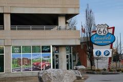 Springfield Missouri, besökaremitt Arkivbild