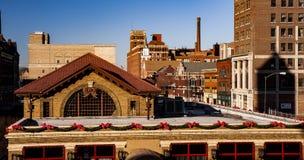 Springfield van de binnenstad, Ohio royalty-vrije stock afbeeldingen