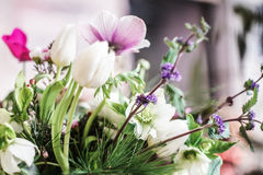 Springlike wedding bouquet Royalty Free Stock Photos