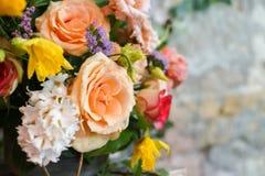 Springlike wedding bouquet Royalty Free Stock Photography