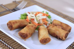 Springroll Stock Photography