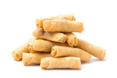 Springroll. Chinese style junk food Stock Image