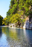 Springs of Acheron river Royalty Free Stock Photo
