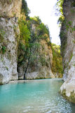 Springs of Acheron river Royalty Free Stock Image