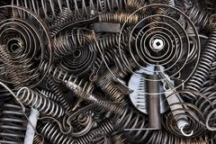 Springs and coils Royalty Free Stock Images
