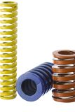 Springs isolated 2 Royalty Free Stock Images