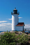 Springtime Around Annisquam Lighthouse in Massachusetts Royalty Free Stock Photography