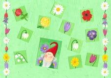 Springtime background Stock Image