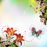 Springtime background Royalty Free Stock Photography