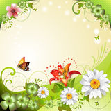 Springtime background Royalty Free Stock Photo