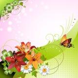 Springtime background Stock Photos