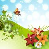 Springtime background Royalty Free Stock Photo