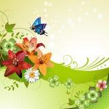 Springtime background Stock Photography