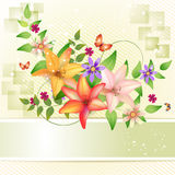 Springtime background Royalty Free Stock Image