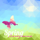 Springtime background Stock Photos