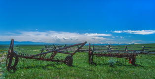 Springtime in Big Hole Valley, Montana Stock Photography