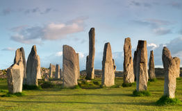 Springtime at Callanish Royalty Free Stock Photo