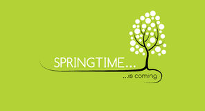 Springtime is coming. Picture symbolized the spring season Stock Photo