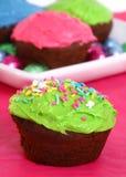 Springtime Cupcakes Royalty Free Stock Photography