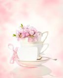 Springtime Cups Stock Photo